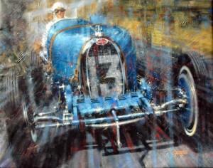 Bugatti 300 Juan Carlos Ferrigno