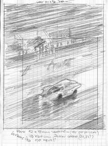 Esbozo Le Mans 70