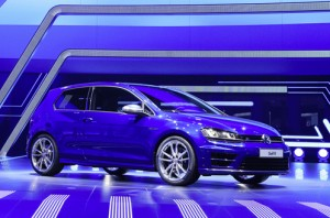Volkswagen Pressekonferenz auf der IAA Frankfurt 2013
