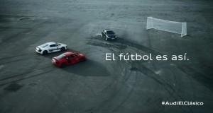 Audi con motivo del clasico entre el Real Madrid CF y el FC Barcelona