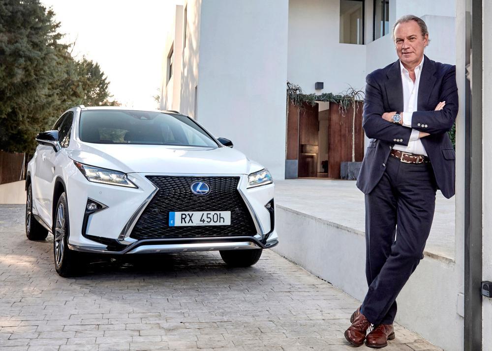 Bertín Osborne y Lexus (Foto: Lexus)