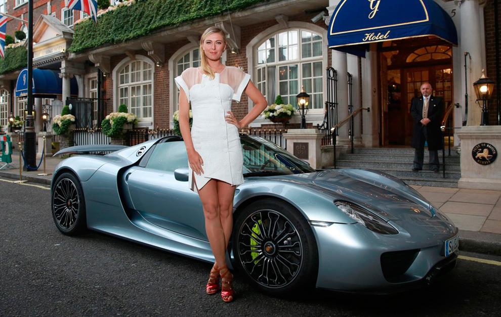 Sharapova era imágen de Porsche