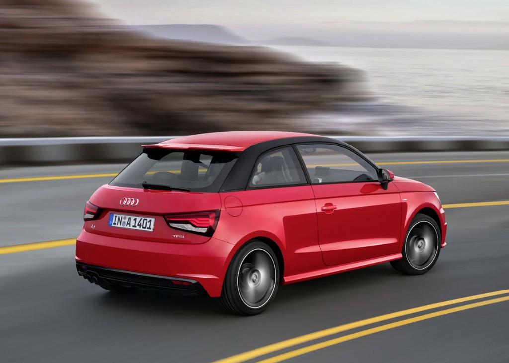 Audi A1 en marcha