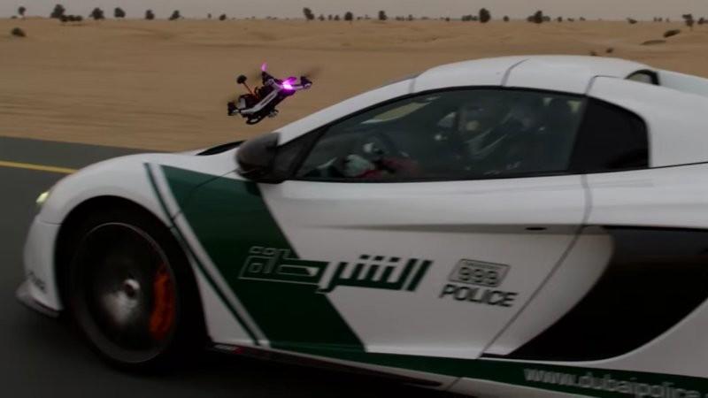 McLaren Vs Dron