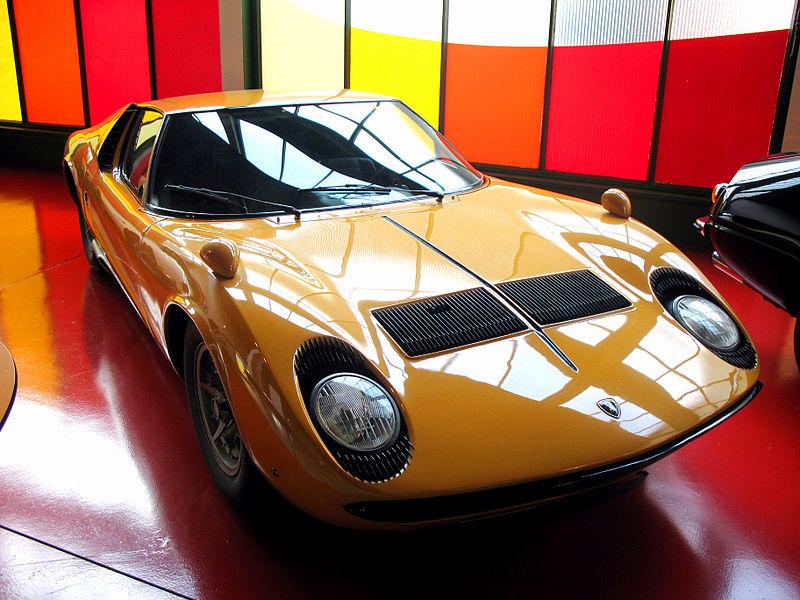 Lamborghini Miura (Foto: Andrew Boss / Wikimedia Commons)