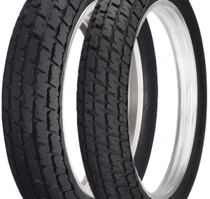 Los pneumáticos del Fast Track (Foto: Dunlop)