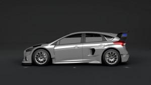 El Ford Focus RS para competición(Foto: Ford)