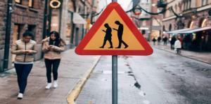 La señal  del móvil que ha causado furor en Estocolmo