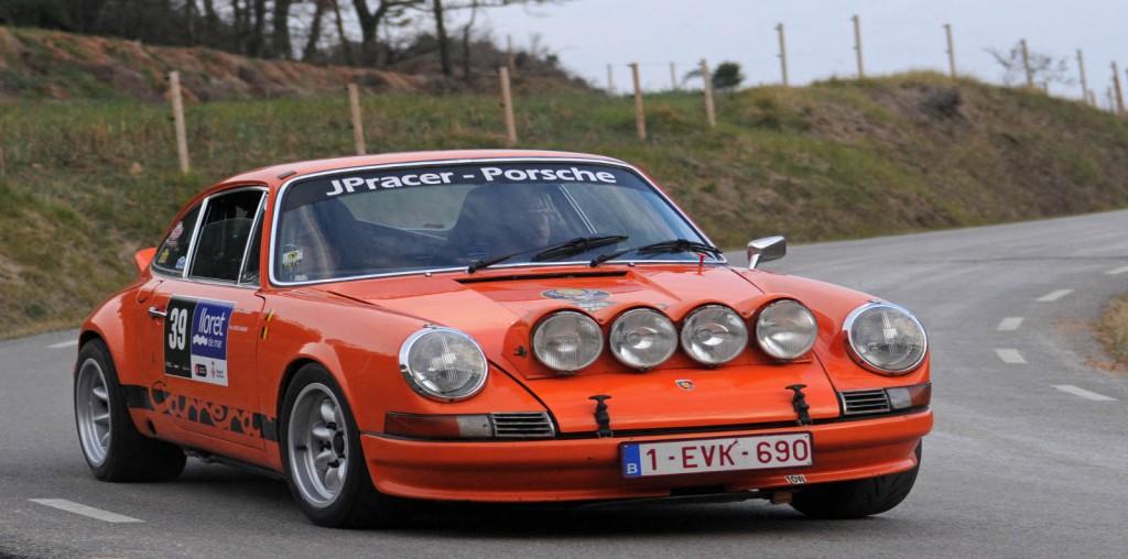El Porsche ganador del Rally Costa Brava Históricos
