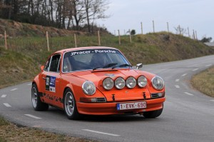 El Porsche ganador del Rally Costa Brava