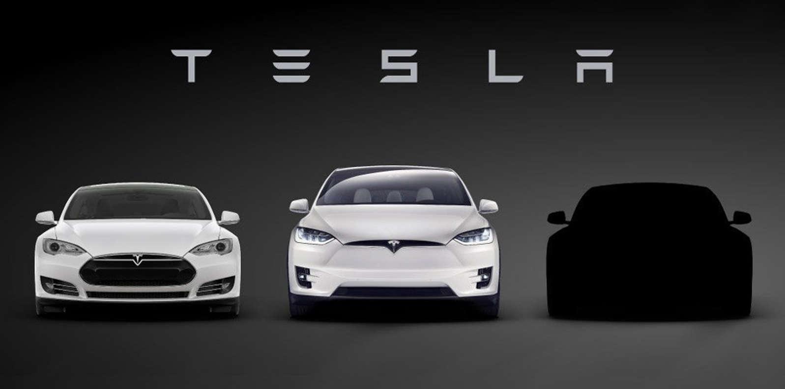 El teaser del Tesla 3