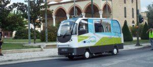 El autobús autónomo probado en San Sebastián