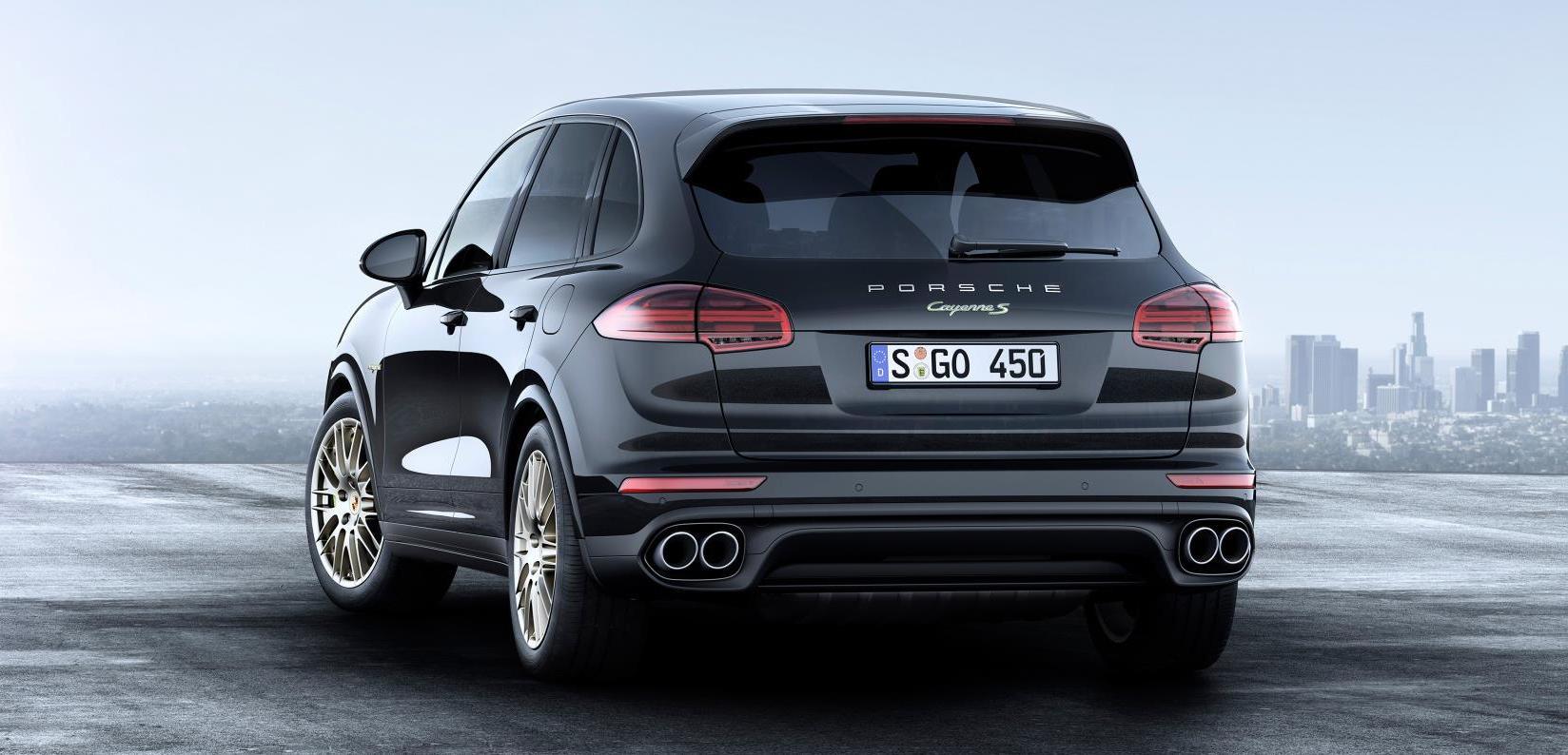 El nuevo Cayenne Special Edition (Foto: Porsche)
