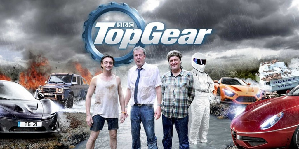 Cartel de la anterior temporada de Top Gear