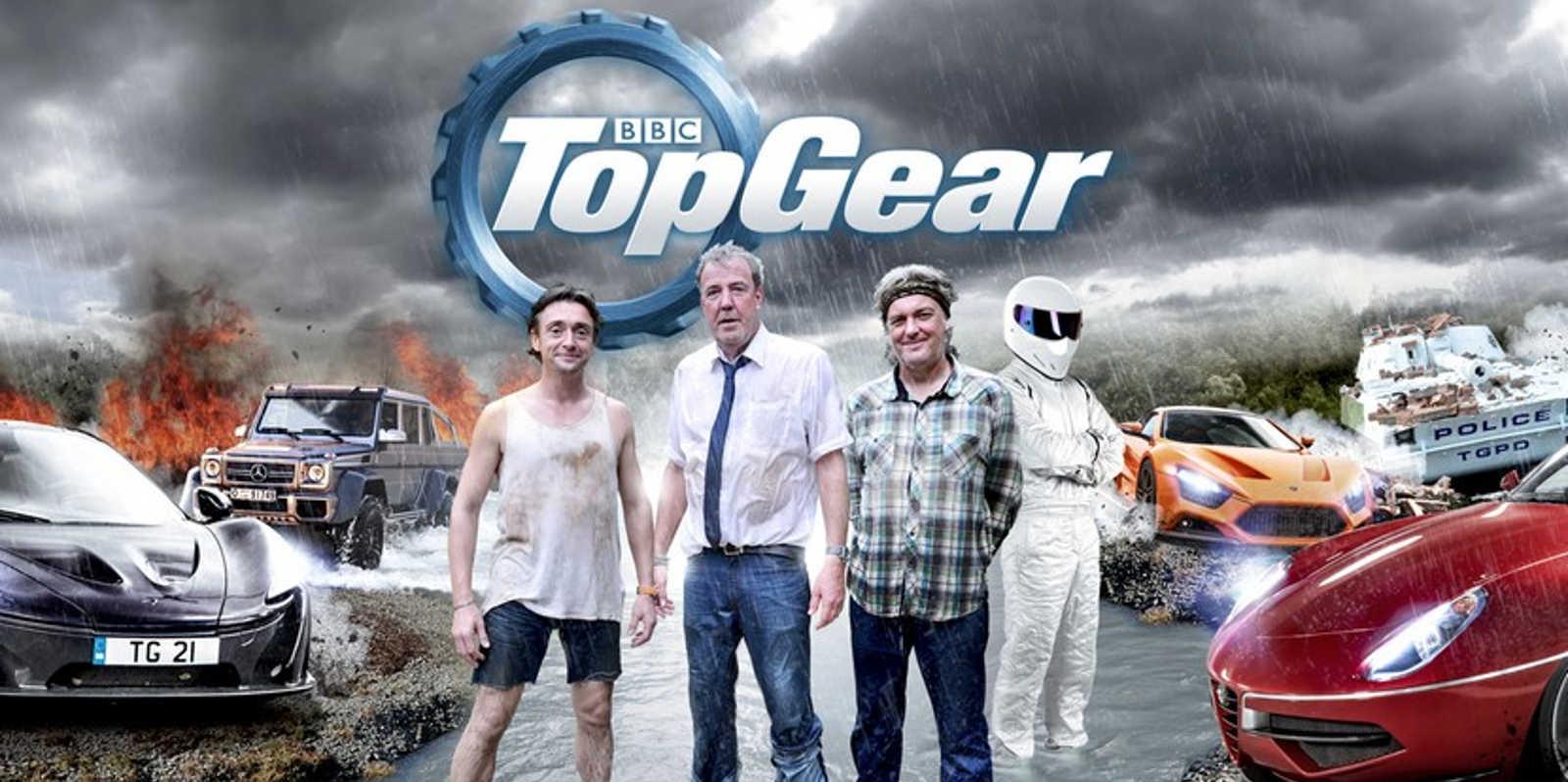 Cartel de la anterior temporada de Top Gear