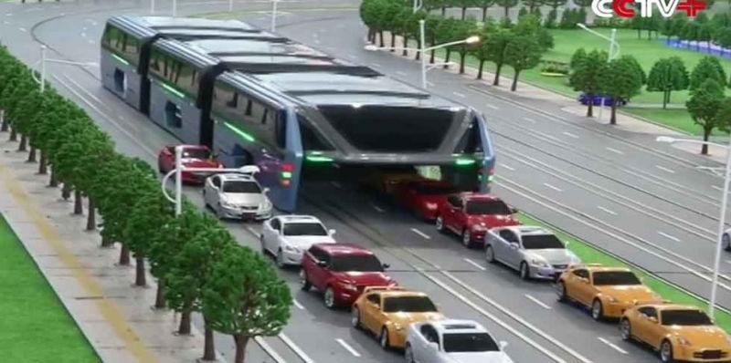 El Transit Elevated Bus