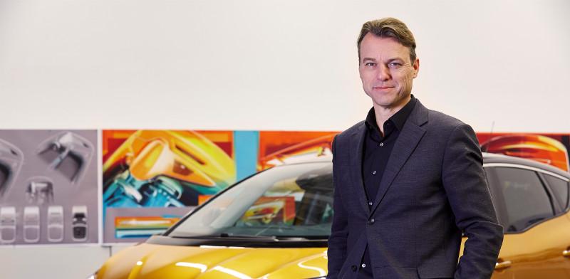 El jefe de diseño de Renault, Van Den Acker