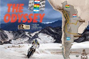 Recorrido del Dakar 16