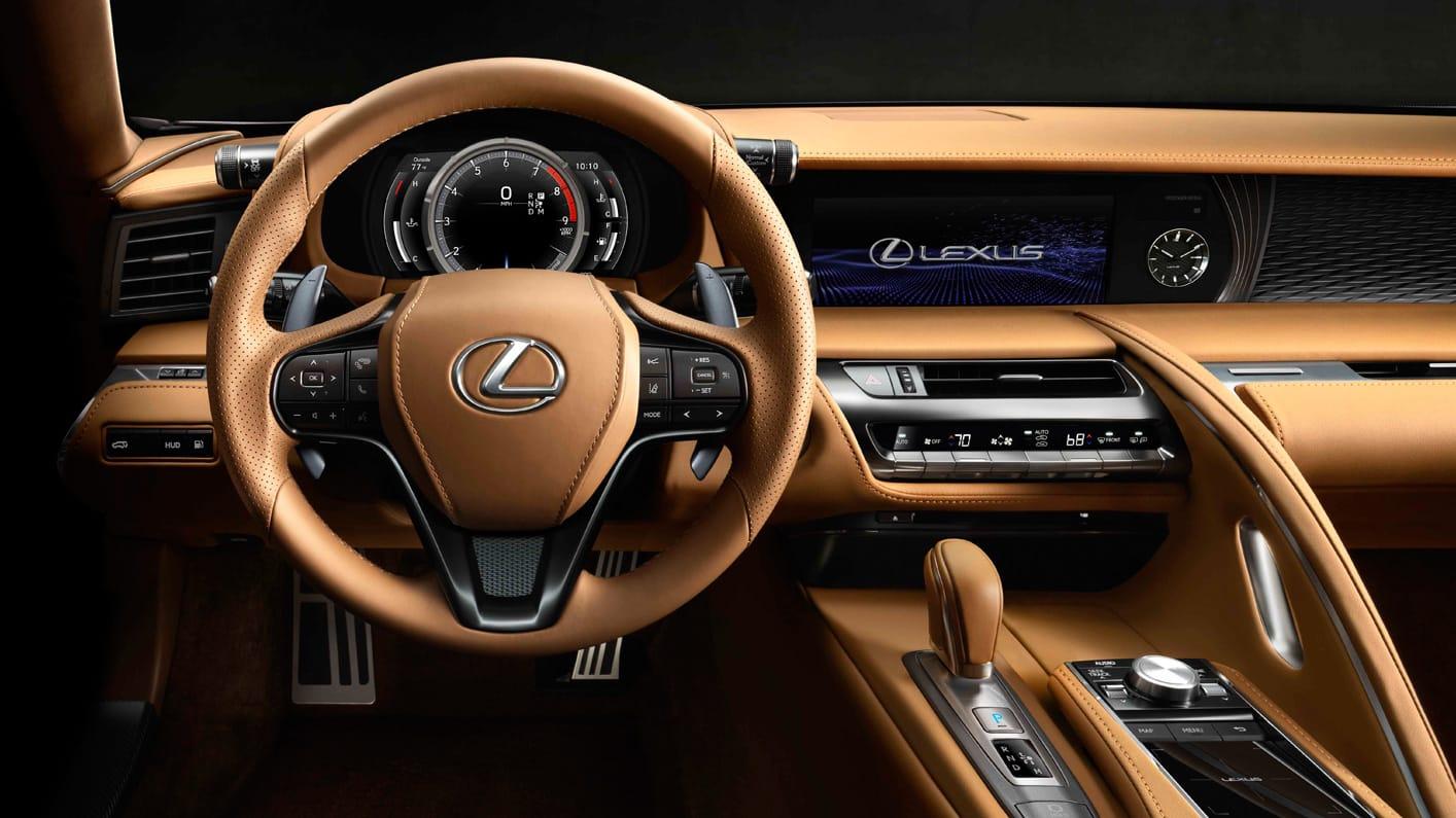 Interior Lexus LC 500