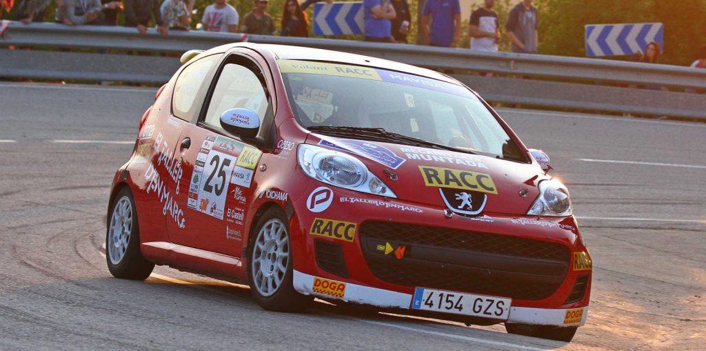 El coche de Bassas y Poch ganadores del Rally Empordà
