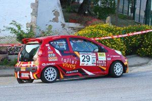 El coche de Muntadas segundo en el Rally Empordà