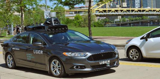 El coche autónomo de Uber