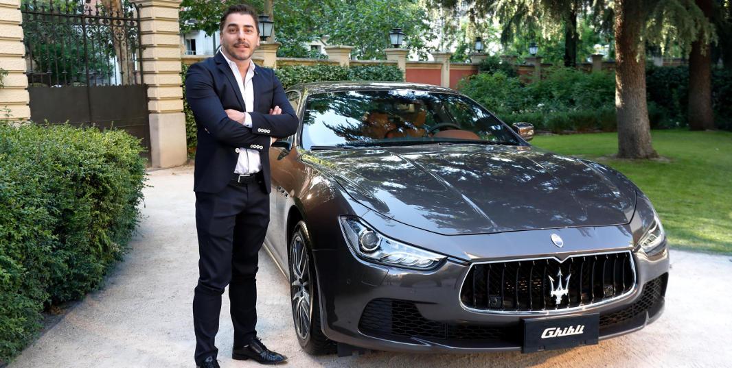 Jordi Roca, uno de los galardonados en los premios Gentleman