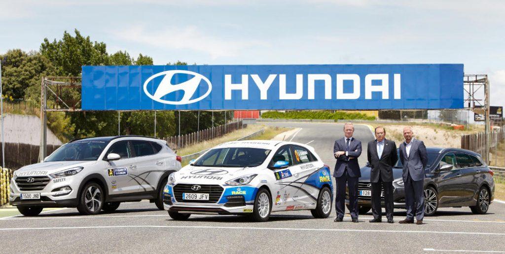 Acuerdo entre Hyundai y la Federación Española de Automovilismo