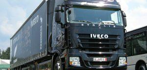 Un Iveco Stralis como el del proyecto para convertir aguas residuales en energía
