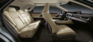 Interior del Lexus RX