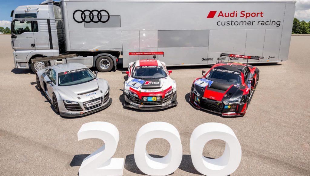 Audi está de celebración con el Audi R8