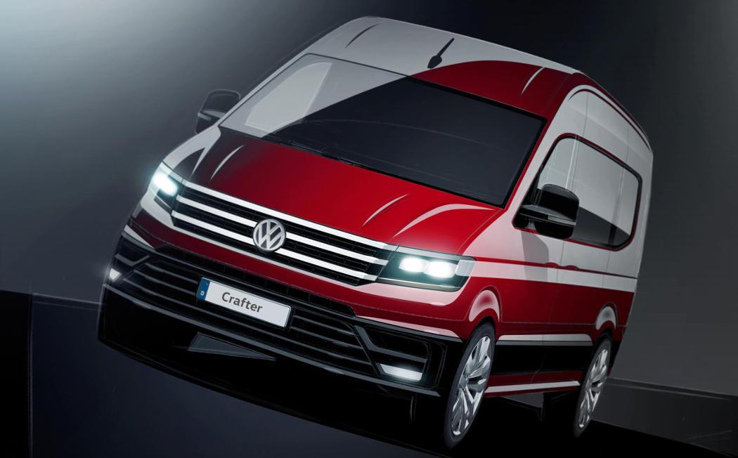 El nuevo Crafter (Foto: Volkswagen)