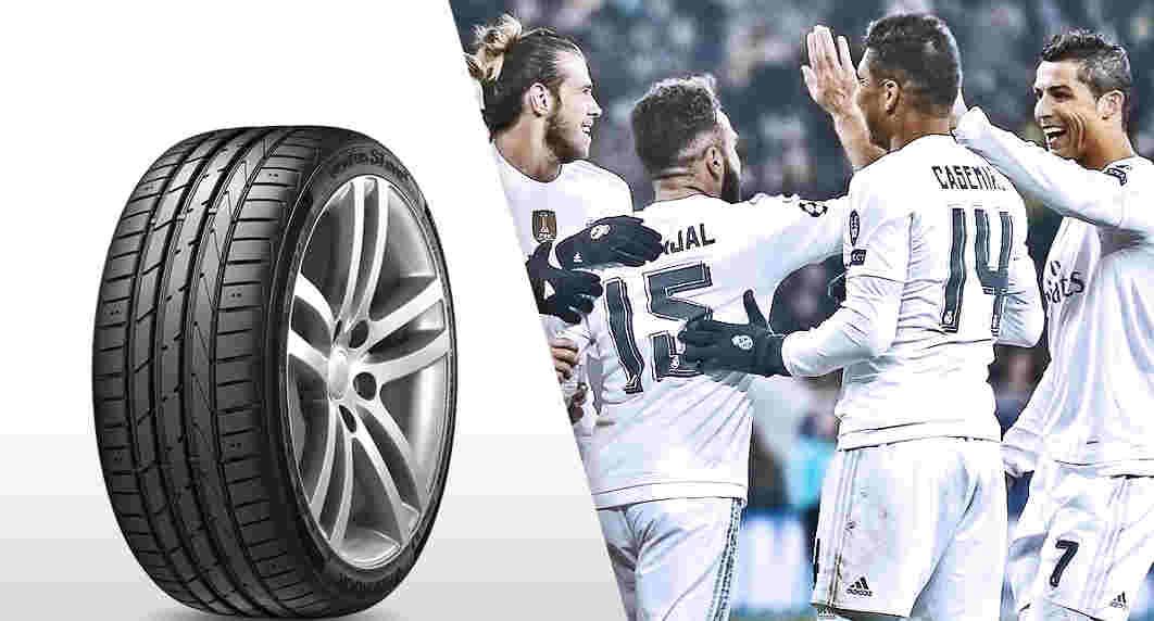 Hankook Tyre y el Real Madrid