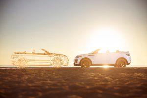 El Range Rover Evoque convertible