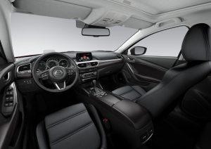 Nuevo diseño interior del Mazda 6