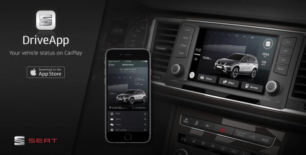 La primera App compatible con CarPlay (Foto: Seat)