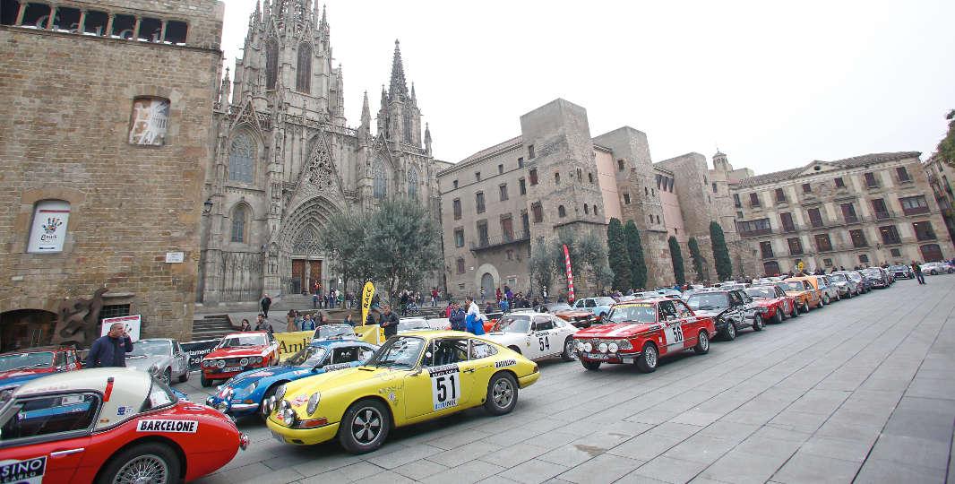 Salida Rallye Monte-Carlo Historique ((Foto: Miquel Rovira))