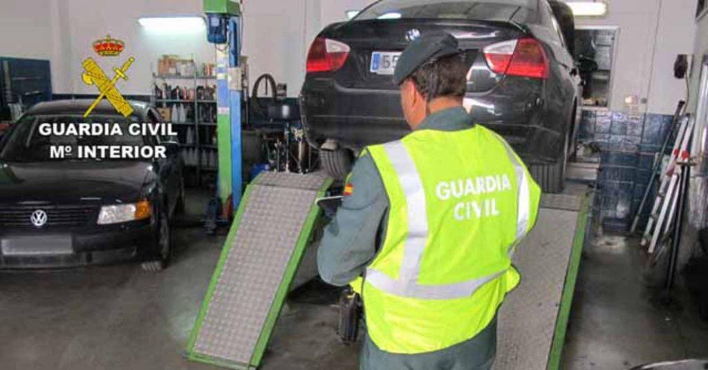 La Guardia Civil ha cerrado talleres ilegales (Foto: Guardia Civil)