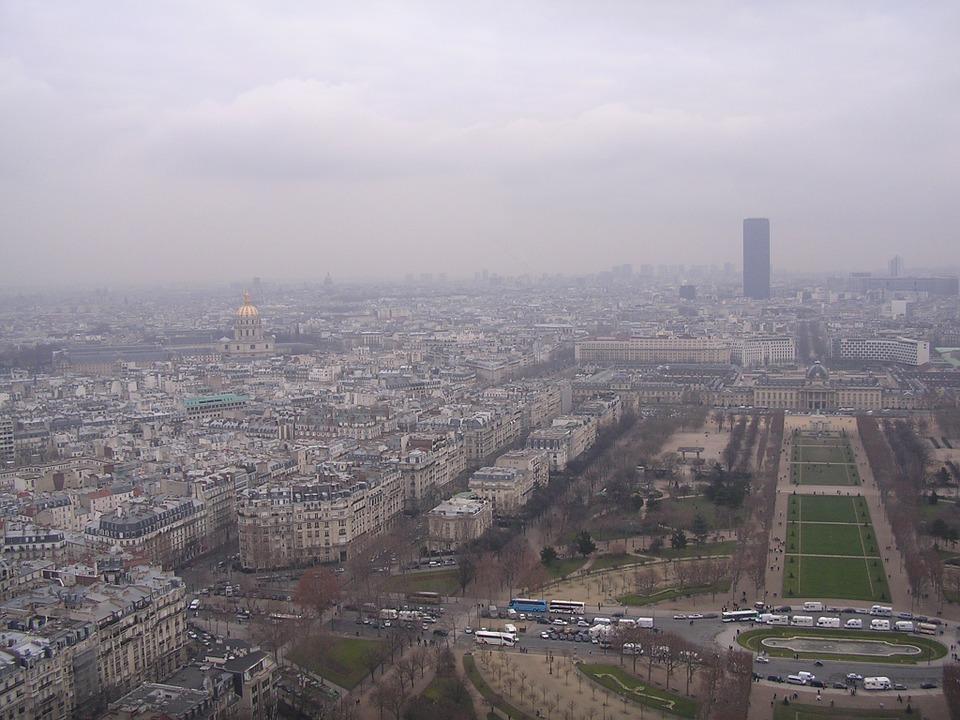 París sufre problemas de contaminación
