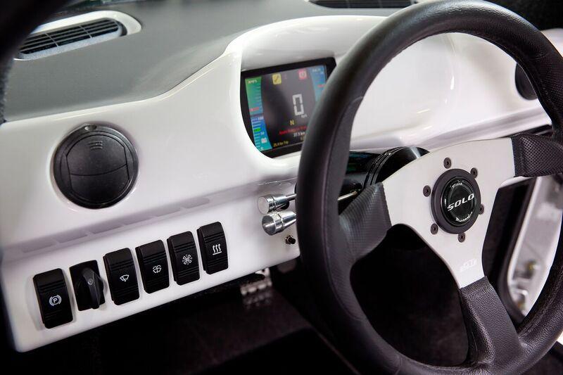 Interior del Solo (Foto: Electra Meccanica)