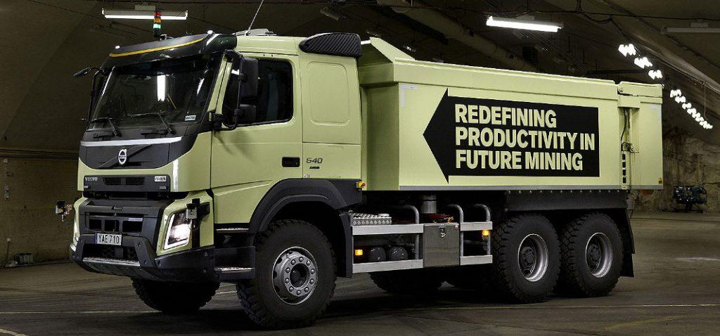 El camión autónomo de Volvo