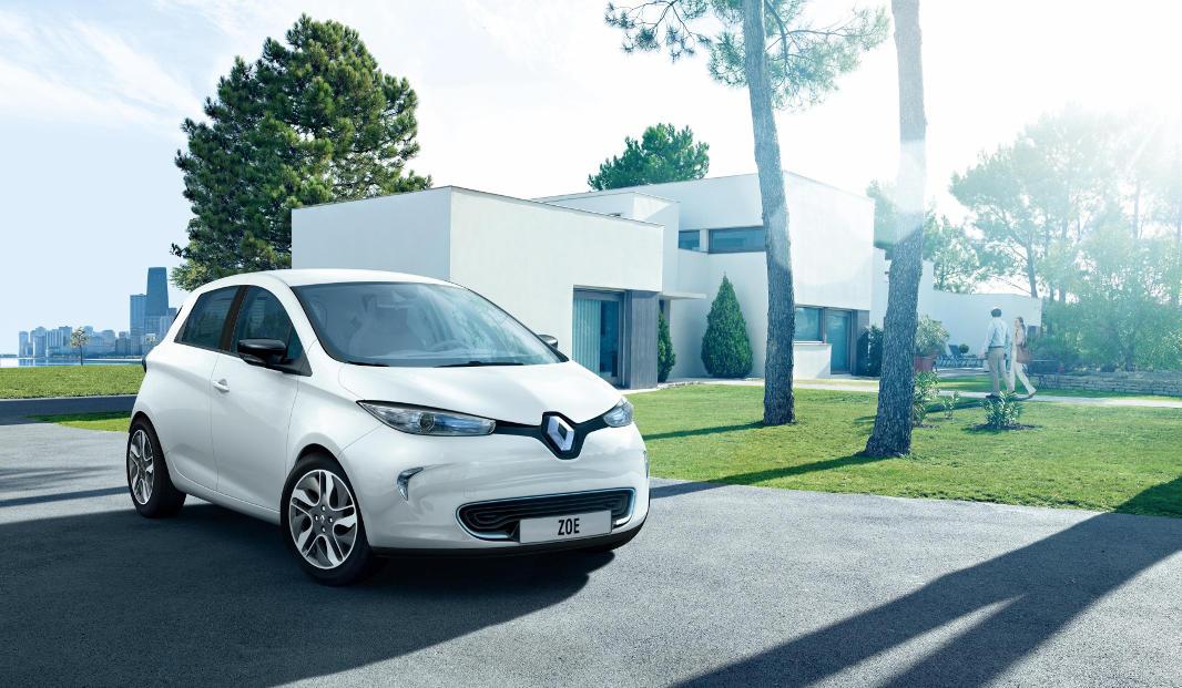 El Renault Zoe, vehículo de la gama eléctrica Renault