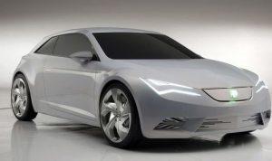El prototipo de Seat eléctrico