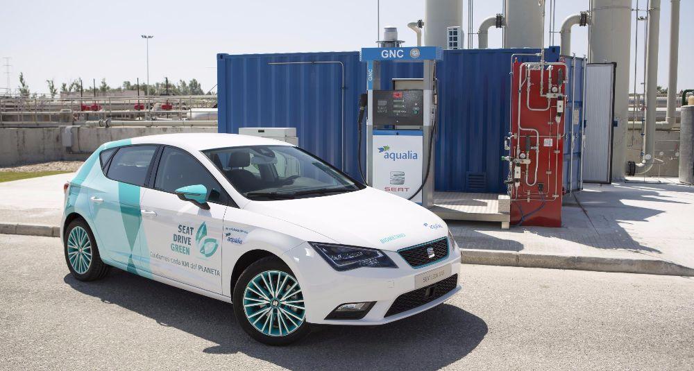 Seat participa en este proyecto para crear combustible a través de aguas residuales