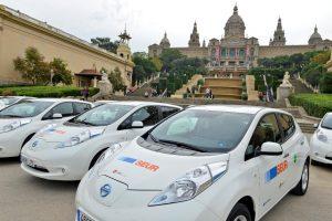 Nissan Leaf para la distribución 0 emisiones