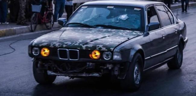 El BMW blindado que salvó 70 personas del Daesh (Foto: Bassnews)