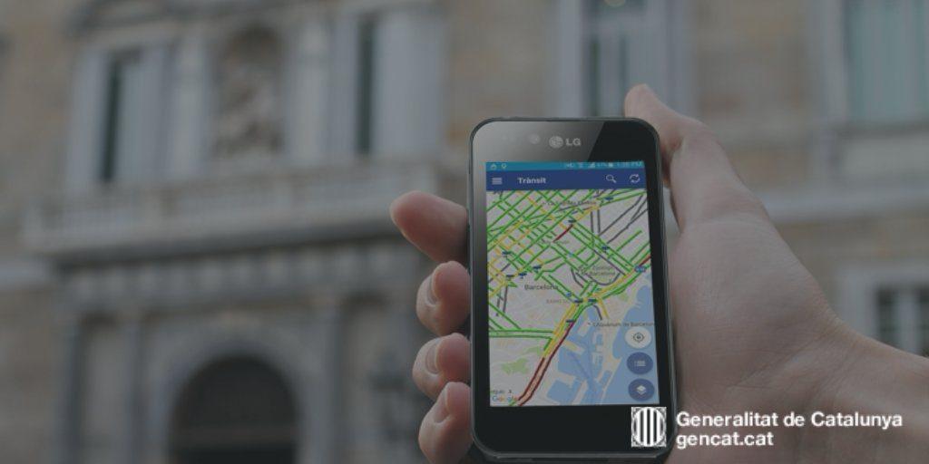 La App del SCT permite ver el estado del tráfico en tiempo real