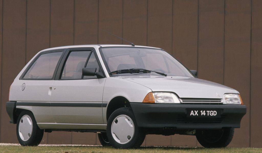 El Citroën AX, todo un mito