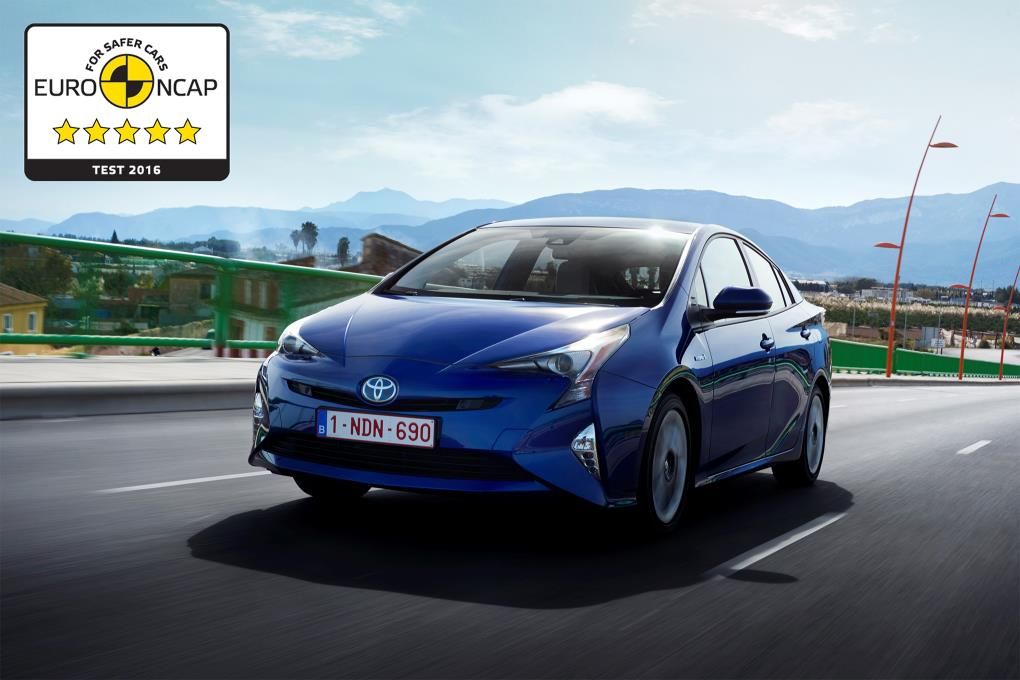 EuroNCAP dió 5 estrellas al Prius