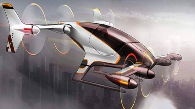 Prototipo de coche volador de Airbus
